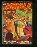 Jungle Stories Wint 1952-spicy George Gross Cover-kigor- Queen-fine Fn-