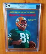 Sports Illustrated 1967 Mcgee 1st Super Bowl Cgc 7.0 None Higher Pop 1 Newsstand