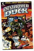 Destroyer Duck 1 1st Appearance Of Groo-1982-comic Book