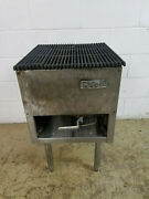 Imperial Grill Nat Gas 18and039and039 X 21and039and039 Cooking Surface Tested No Tag