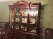 Knob Creek Chippendale Dinning Table Set Sold
