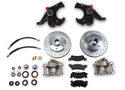 Chevrolet C10 Truck Stock Height Spindle Front Disc Brake Conversion 5 On 5