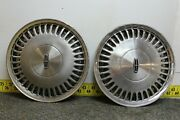 Oem Set Of 2 15 Hub Caps Wheel Covers E80y1130a 1988-93 Lincoln And Town Car2564