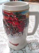 2006 Budweiser Holiday Stein Sunset At The Stables