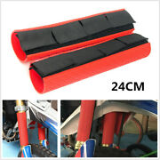 24cm Motorcycle Fork Dust-proof Cover Gaiters Boots Waterproof For Crf / Yamaha