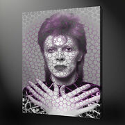 David Bowie Ziggy Stardust Canvas Print Picture Wall Hanging Free Uk Pandp