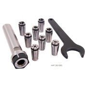 Proseries 10 Piece Sk10 Lyndex Style Straight Shank Collet Chuck Set3901-5583
