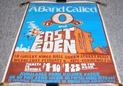 A Band Called O East Of Eden Concert Poster Wed 4th Feb 1976 Kings Hall Derby Uk
