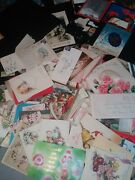 Lot 350 Vintage Greeting Cards Scrapbooking Christmas Birthday Anniversary More