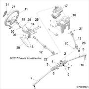 Polaris Power Steerting Assembly 1.5 Tooth Rzr Xp Genuine Oem Part 2413630