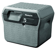 Sentrysafe Fhw40220 Fireproof Box And Waterproof Box With Key Lock 0.66 Cu Ft