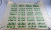 Usa 769 Plate Of 120 Stamps 20 Souvenir Sheets Uncut Postage 1935 Mint Nh