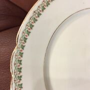 Vintage Holiday China Pillivuyt Limoges 9 Piece Accent Dinnerware Set