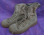 Army Tan Wellco Flight Approved Boots 8 Wide Loc = C1