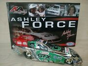 Ashley Force 2007 Castrol Gtx Ford Mustang Funny Car 124 White Gold Signed
