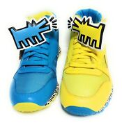 Mens Reebok Keith Haring Cl Leather Mid Strap Lux V44586 Dog Ds Sneakers Shoes