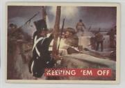 1956 Topps Davy Crockett Series 2 Keeping And039em Off 70a 0s4