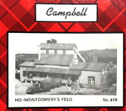 Campbell Scale Models Kit 419 Ho Scale Montgomery Feed And Seed