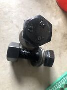 """1000 Of New Bolts With Washers And Nuts 1""""x3-1/4, 2.50 Each"""