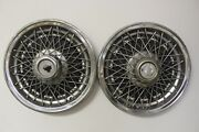 Oem Gm Set Of 2 15 Wire Type Hub Caps Wheel Covers 14008981 1977-79 Impalaw9
