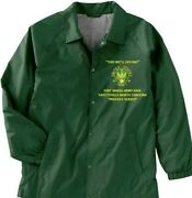 Fort Bragg Fayetteville-nc Army Coaches Embroidered Lightweight Jacket