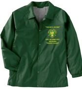 Fort Sill Army Post Oklahoma Army Coaches Embroidered Lightweight Jacket