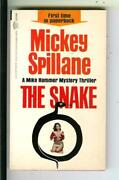The Snake By Mickey Spillane Signed, Signet D2548 Crime Gga Pulp Vintage Pb
