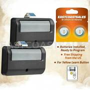 2 For 891lm Liftmaster 1 Button Remote Transmitter Garage Door Security+ 2.0