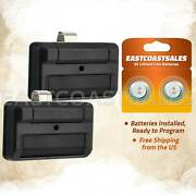 2 For Liftmaster 811lm 1-button 12 Code Dip Switch Garage Gate Remote Control