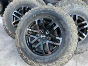 5x New Genuine Ford Raptor X Black 2021 17 Wheels And Bf Goodrich At Tyres