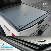 Fit 2004-2014 Ford F-150 Tonneau Cover 6.5ft Bed Retractable Hard Aluminum