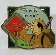 Coca Cola Howdy Friend Wwii Soldier 1942 Centennial Series Lapel Hat Tie Pin