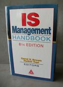 Is Management Handbook 8th Edition - Signed - Carol Brown And Heikki Topi - New