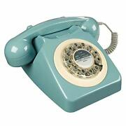 Old School 80s 90s Time Rotary Telephone Fashioned Retro Landline Phone For Home