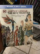 Rare Justice League The New Frontier - Commemorative Edition Limited Steelbook