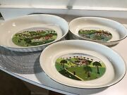 3 Villeroy And Boch Design Naif Oval Baking Dish Baker 14.75andrdquo Plowing