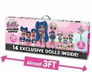 Lol Surprise Amazing 14 Dolls 2 Playsets For Girls Kids Toy Ages 3 4 5 6 New