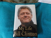 President Bill Clinton Autographed Hard Cover Book Jsa Certified My Life