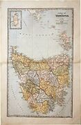 The Picturesque Atlas Publishing Company / General Map Of Tasmania 1888