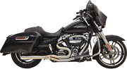 Bassani 1f22ss Long Road Rage Iii Stainless 2-into-1 Exhaust System Megaphone
