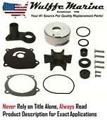 Water Pump Kit For Johnson Evinrude 85 115 140 150 175 200 235 Hp 1977-78 12072