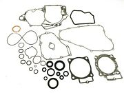New Moose Racing Complete Engine Gasket Kit W/ Oil Seals Crf450r 09-16 E150