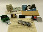 Minox Riga Vef Made In Latvia Rare Subminiature Spy Camera Clean And Working