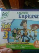 Leapfrog Leapster Explorer Toy Story 3 Game Case Leap Pad 2