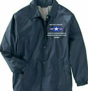Joint Region Marianas Andersen Afb Guam Coach Embroidered Lightweight Jacket