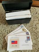 Franklin Mint Stamp Of All Nations - First Day Covers