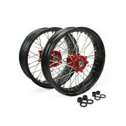 3.5and4.2517 Front Rear Wheels Hub Supermoto For Cr125r Crf450r Crf250x