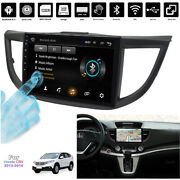 10.1and039and039 Android 9.1 1+16gb Car Stereo Radio Gps Bt Dab Mirror Link For Honda Crv