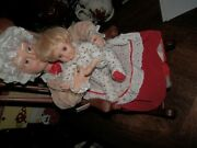 Vintage Telco Motionette Animated Mrs. Santa Claus Figure On Rocking Chair 20