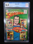 Superman 100  Cgc 6.5  Cream To Off White Pages  Anniversary Issue